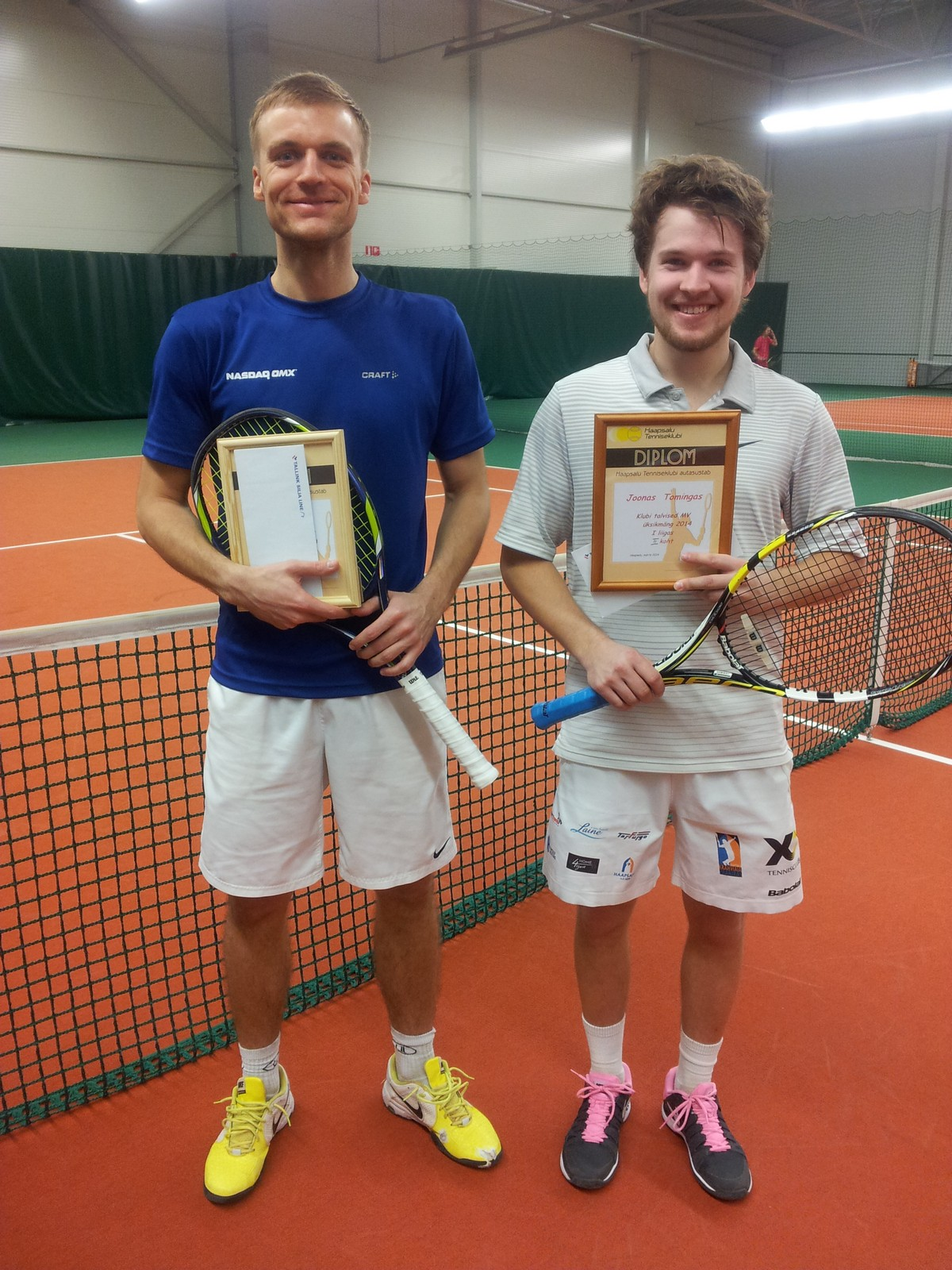 Ott Raidla ja Kalju Aigro võidukad Haapsalu Tenniseklubi lahtistel meistrivõistlustel!