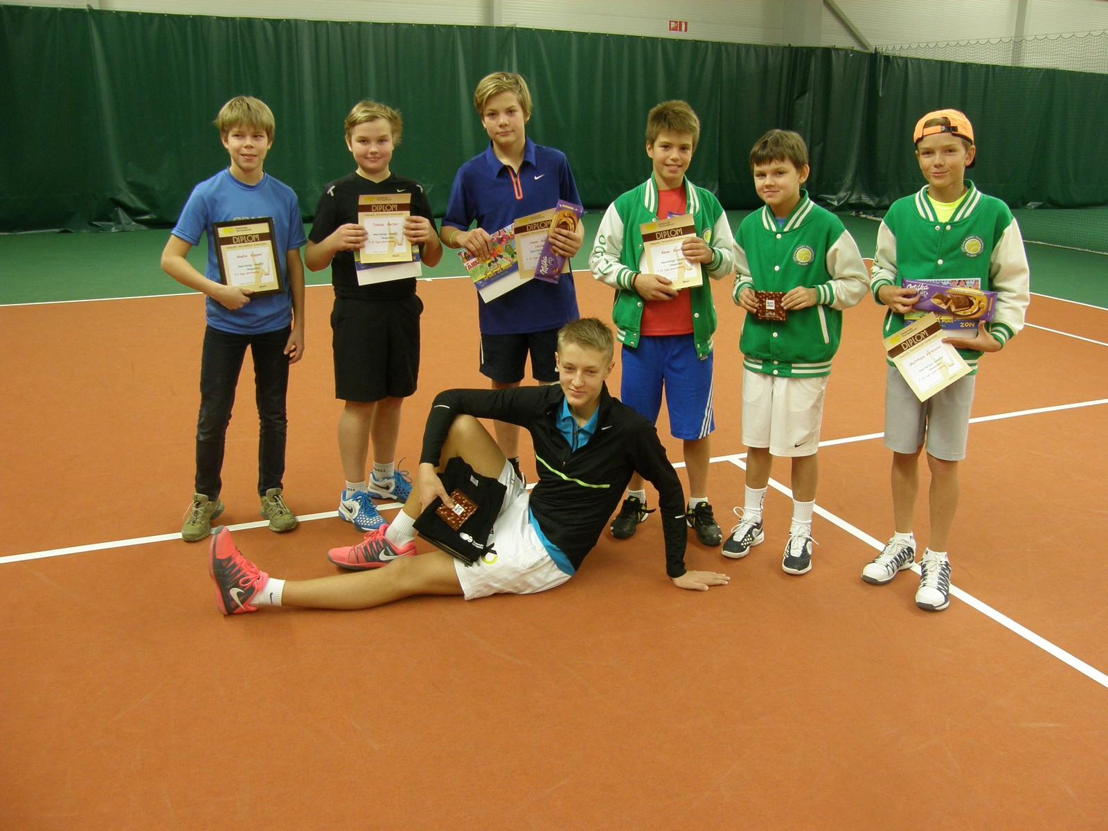 Tublid esinemised Haapsalu Tennisekooli mängijatelt!