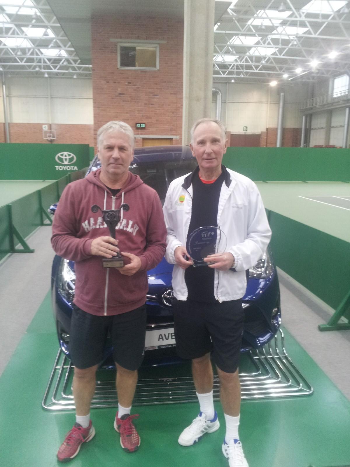 Rahvusvahelise ITF turniirivõit Haapsallu!