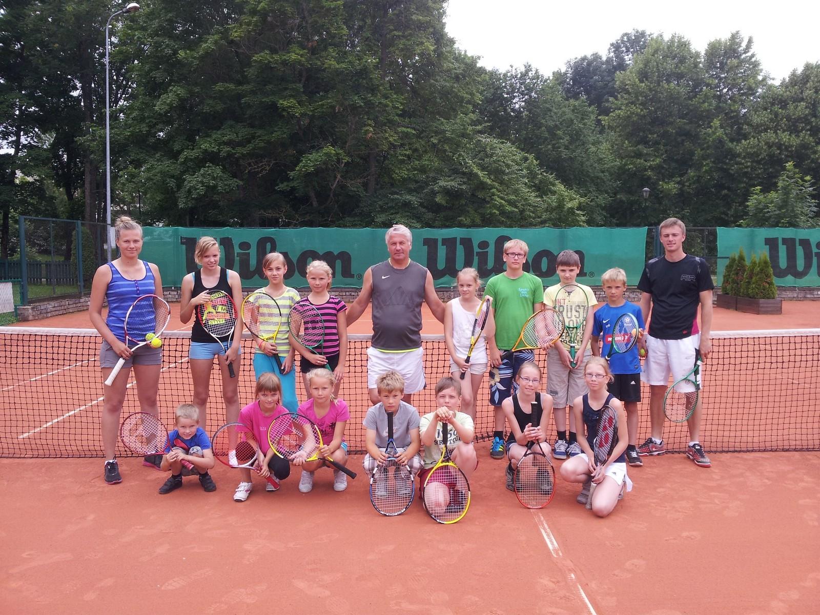 Toimus tasuta laste tenniselaager!