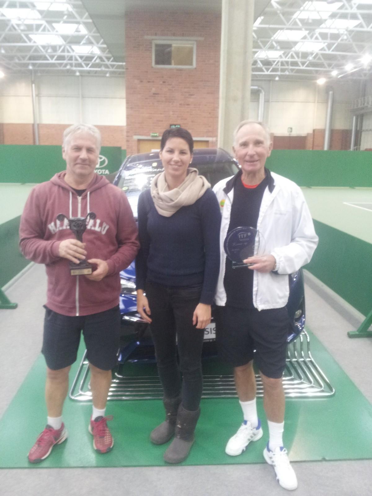 Treener Vello võitis ITF turniiri Leedus!