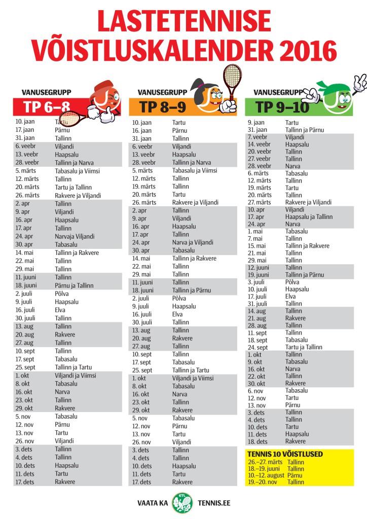 lastetennise-kalender-2016