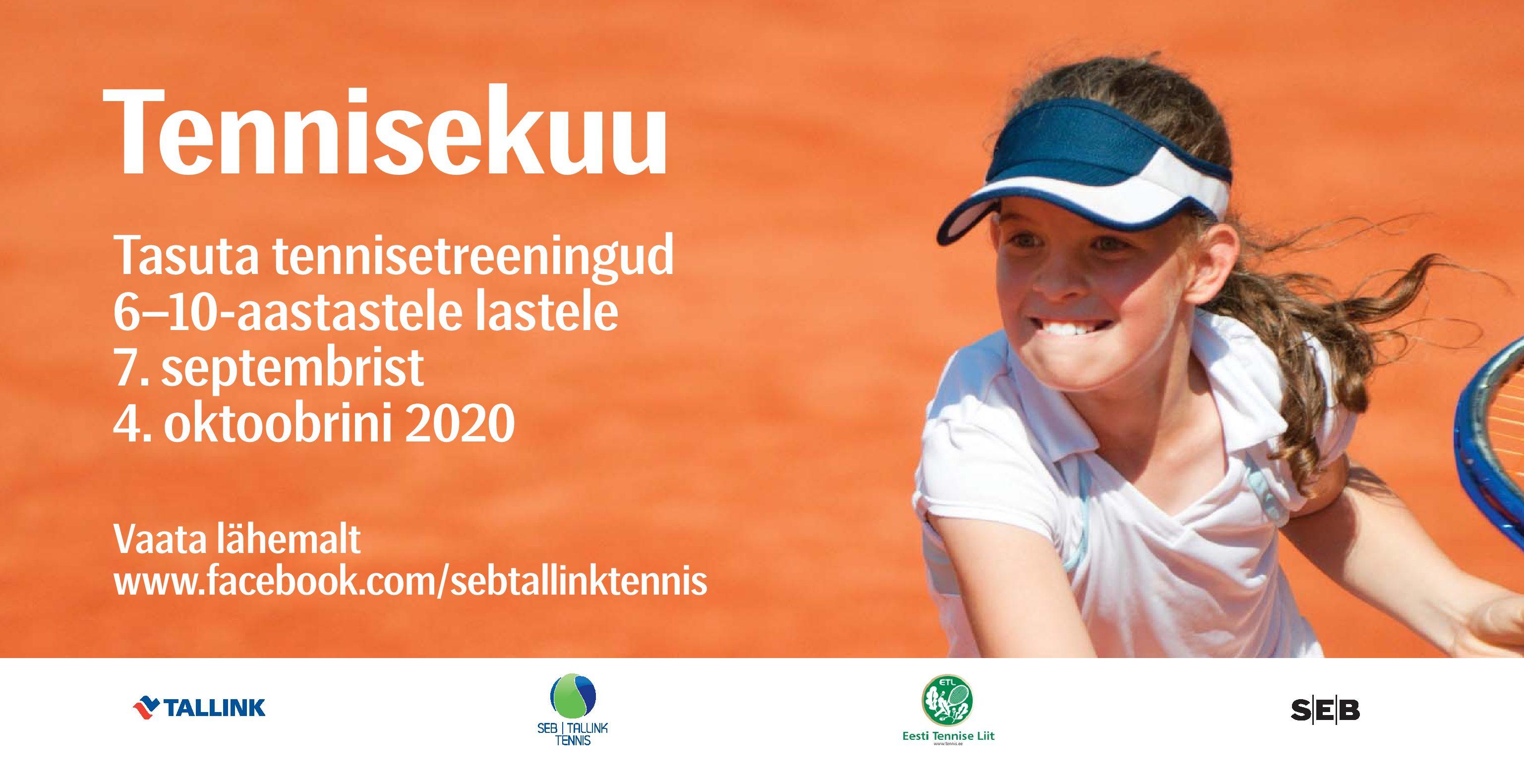 TASUTA tennisetreeningud lastele!